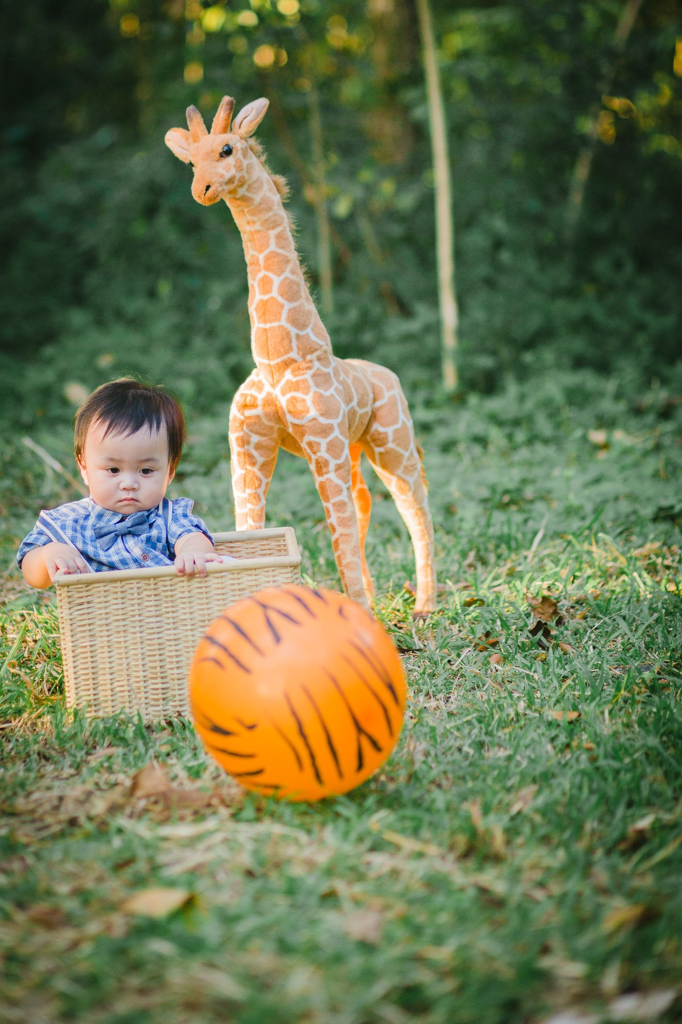 Briels baby safari photo shoot photo by pebbles lifestyle photography props and styling by something pretty manila