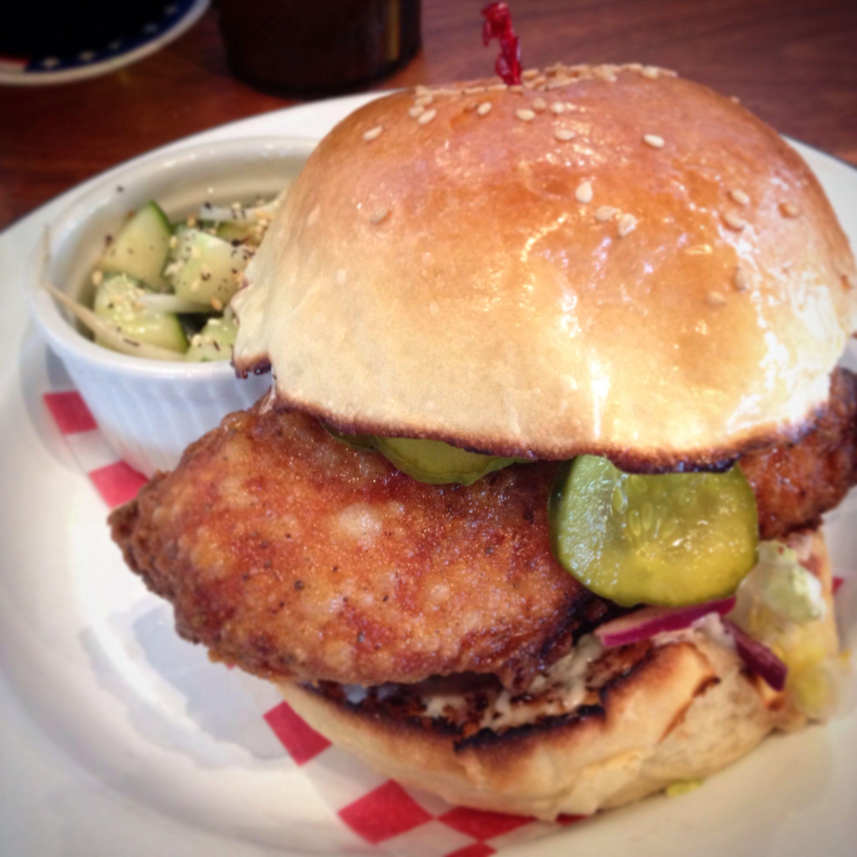 leon u0027s oyster shop fried chicken sandwich charleston