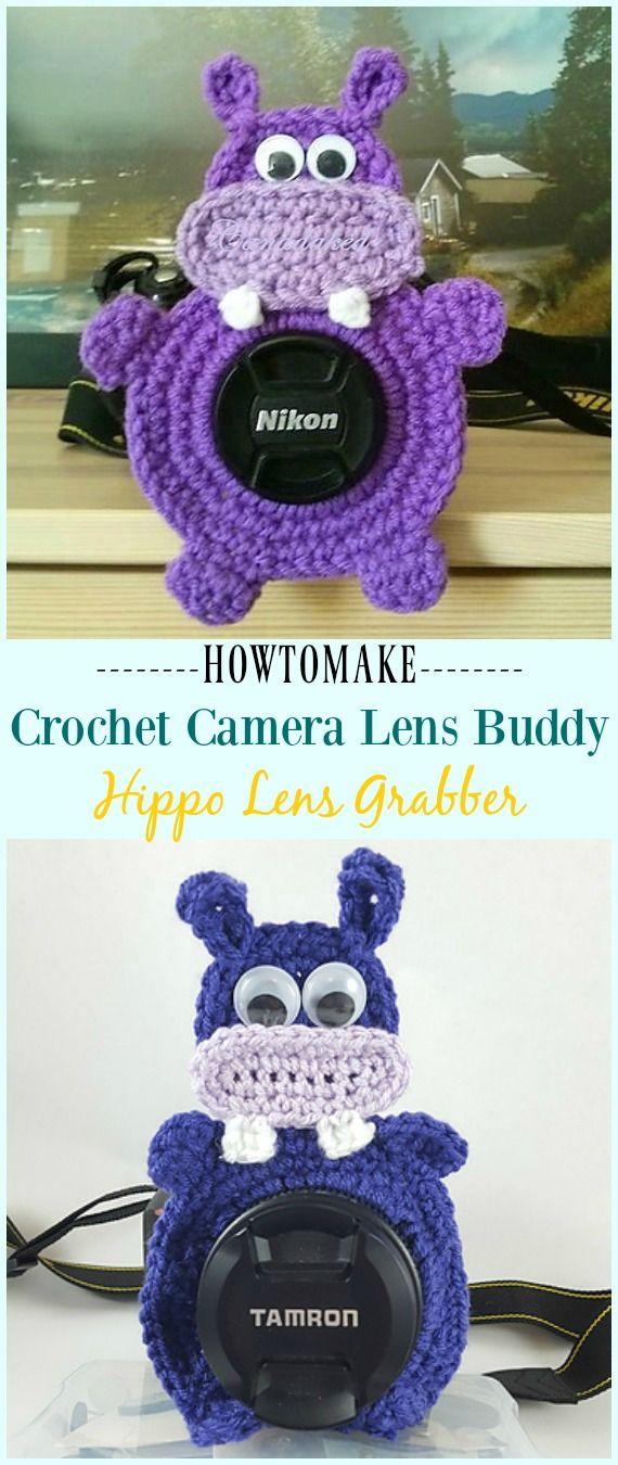 Crochet Camera Lens Buddy & Cozy Patterns