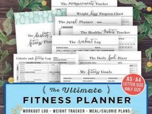 67+ Ideas For Fitness Planner Pdf Etsy #fitness