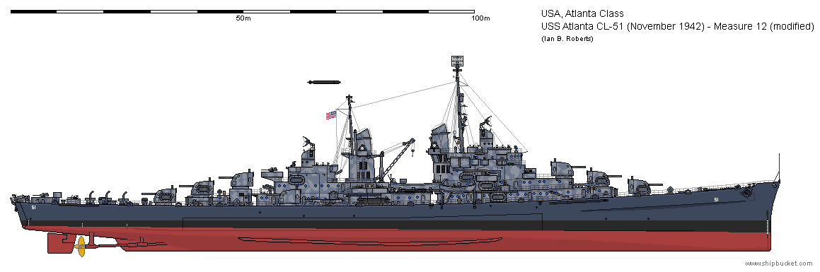this is atlanta cl 51 in november of 1942 as lost at the naval battle of guadalcanal nbsp atlanta is painted in an int uss san diego uss juneau navy ships uss san diego uss juneau navy ships