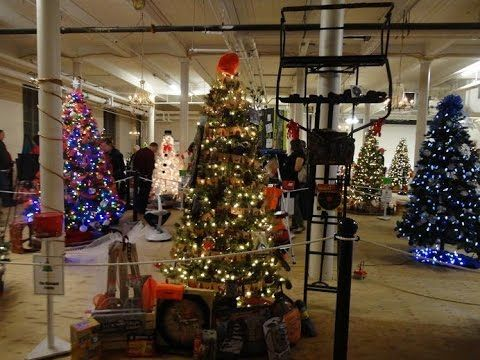 for hunters and a little comedy fun in the attach video sitea great hunters christmas tree raffle - Videos Of Decorated Christmas Trees