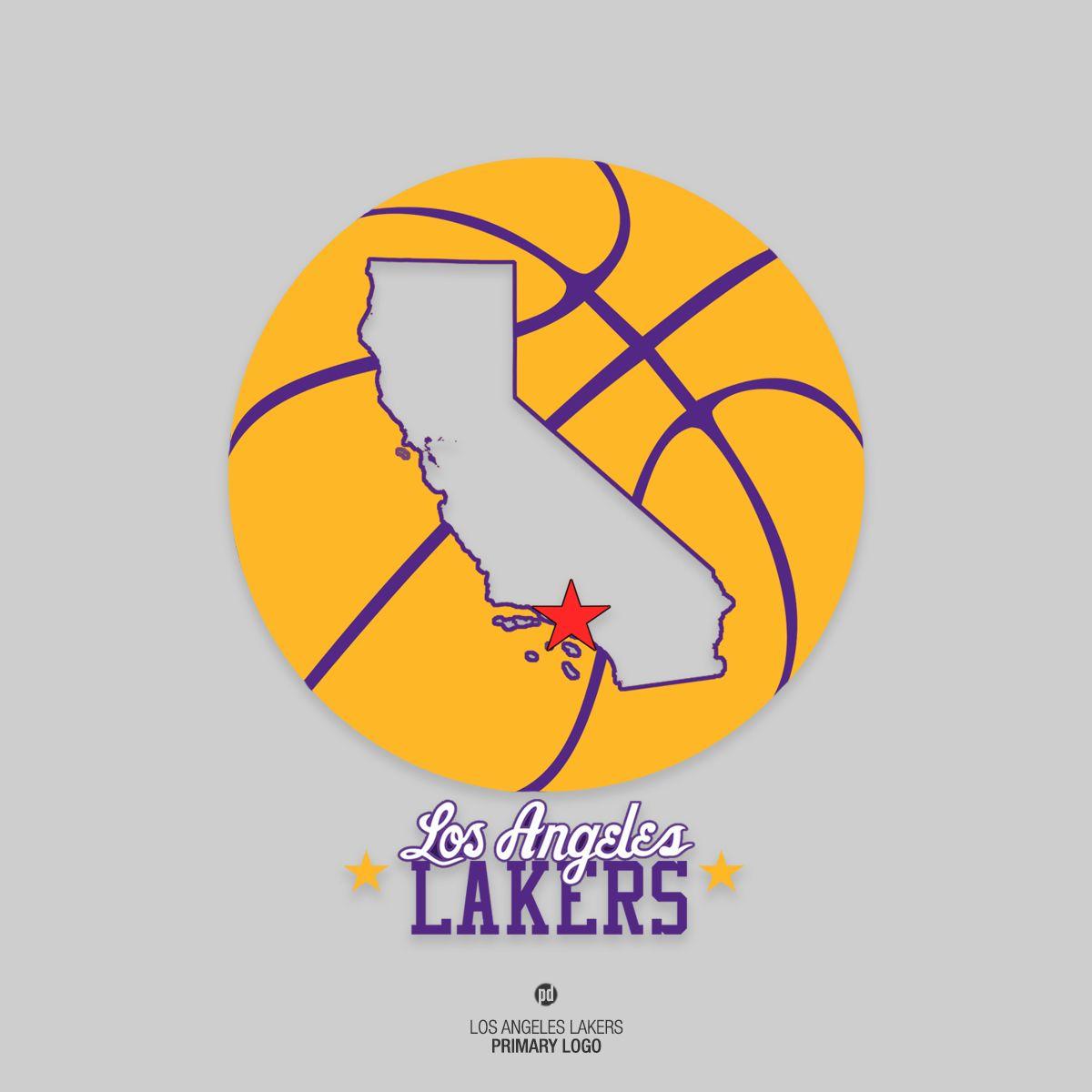 Los Angeles Lakers Rebrand  Marcas  Branding  04  Pinterest