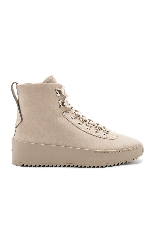 God Nubuck Leather Hiking Sneakers