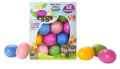 Eco Egg Eco Friendly Easter Eggs - 12 Count
