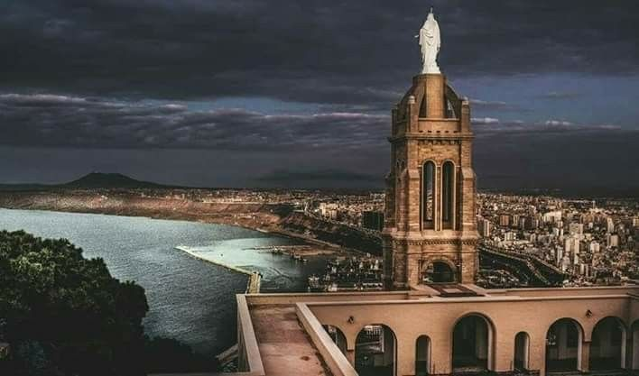 ORAN  SANTA CRUZ, magnifique vue  sur la  ville