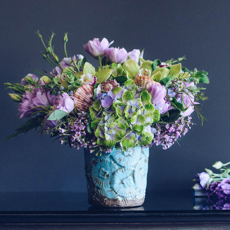 Ocean Breeze Empty Vase Florist Event flowers, Flowers