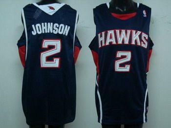 red team jersey xl atlanta hawks 2 joe johnson blue jersey joe johnson jersey swingman