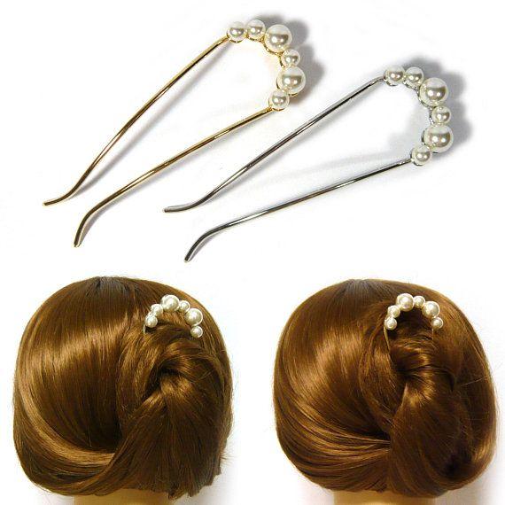 Light Pink plastic faux pearl thin skinny headband hair band accessory