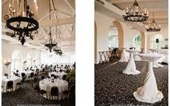 ravisloe country club wedding - black and white with dark green accents