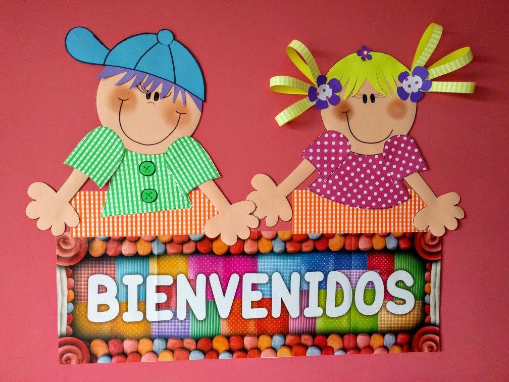 Cartel de bienvenida ideas para el jard n de infantes for Cancion de bienvenida al jardin