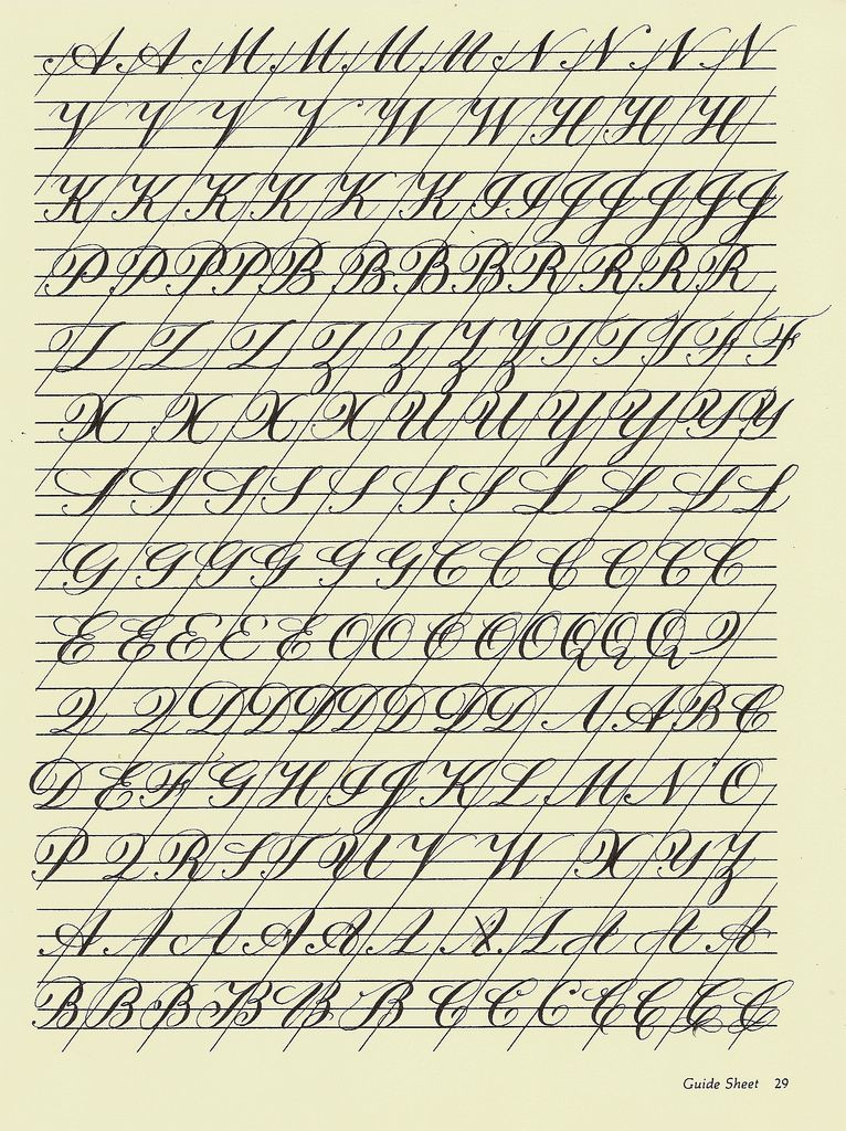 Resultado de imagem para copperplate handwriting worksheet ...