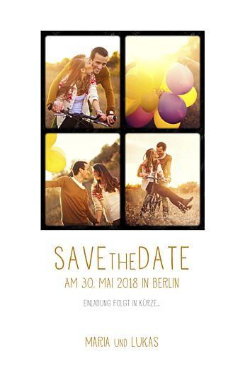Save-the-Date 4 fotos weiß wunderschöne Hochzeitspapeterie  #hochzeit #savethedate #wedding #weddingwednesday #love