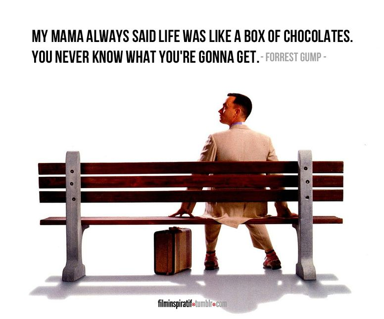 forest gump- quotes of a genius | ~quote or be quoted~ | Pinterest ...