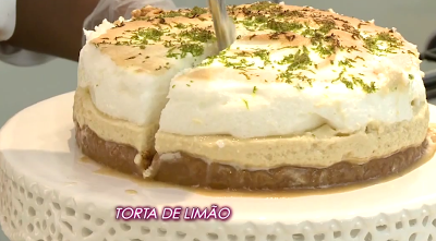 Blog Claudia Tenório: Aprenda a fazer uma deliciosa Torta de Limão