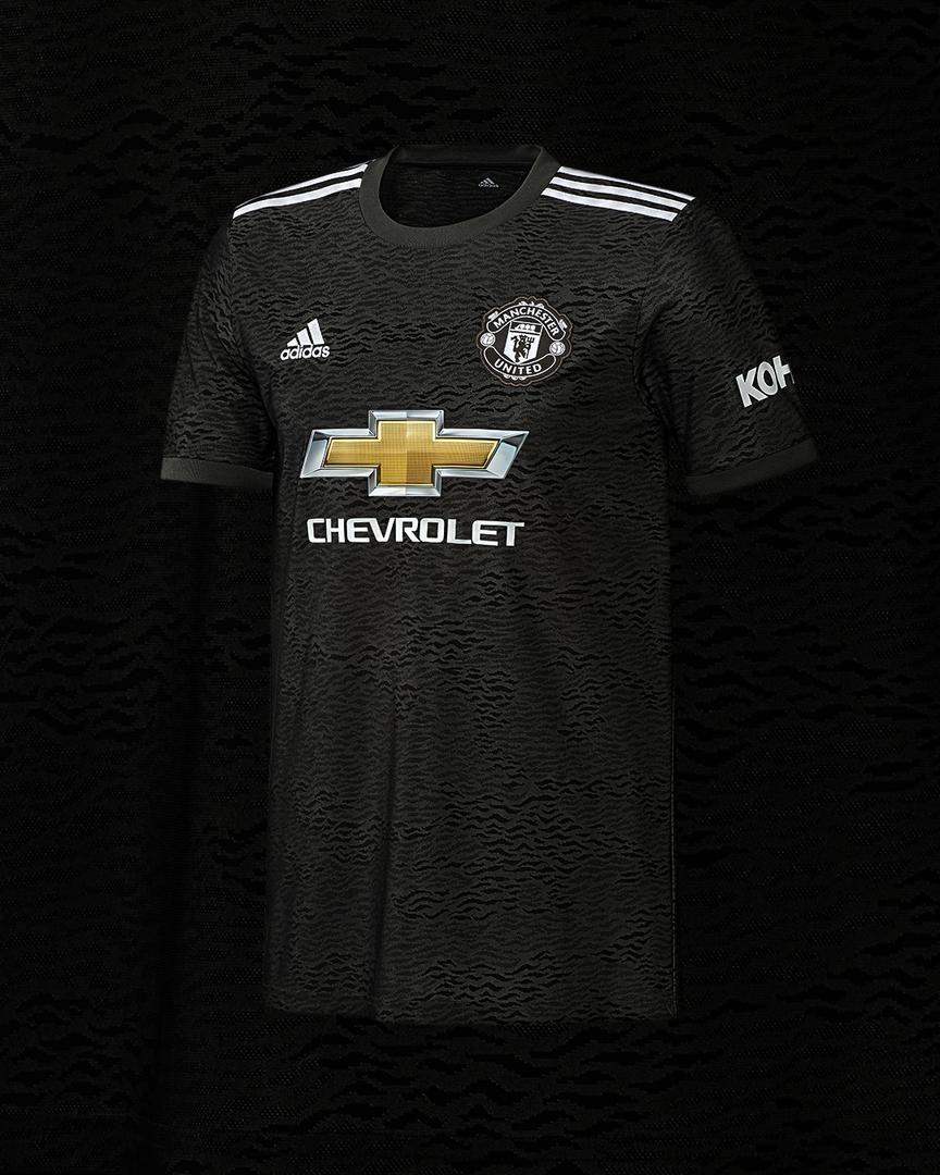Gallery of Man Utd 2020/21 adidas away kit Manchester