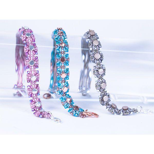 Bracelet Tiny Buttons avec Button Beads et Super8