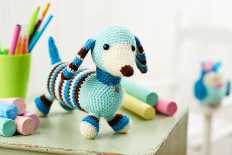 Free Amigurumi Dachshund Pattern : Lgc knitting crochet issue preview dog crochet free
