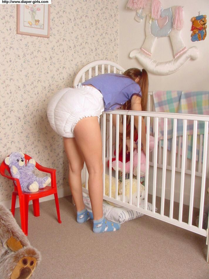 Adorable adult baby crib diapered plastic story galleries 241