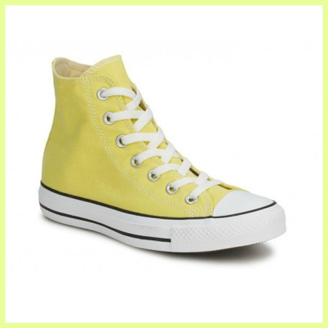 converse alte gialle