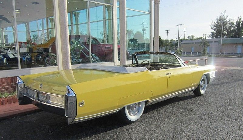 1965 Cadillac Coupe Deville Convertible Cadillac Cadillac Cars