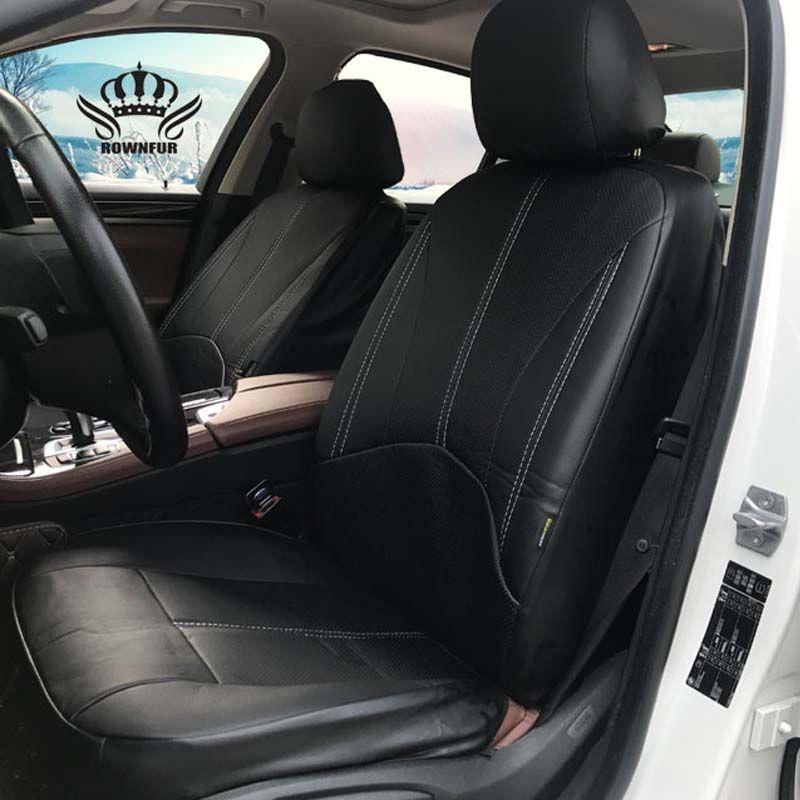 Black Pretty Waist Black Bamboo Charcoal PU Leather Car Singleseat Cover Cushion
