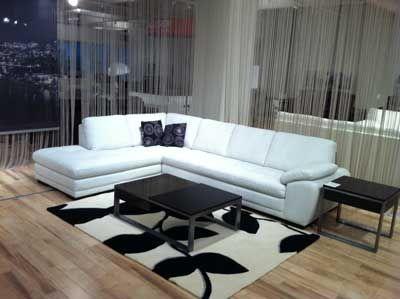 Charmant Miami   Palliser Leather Sectional Price | Palliser Miami Sectional Sofa In  White Leather |