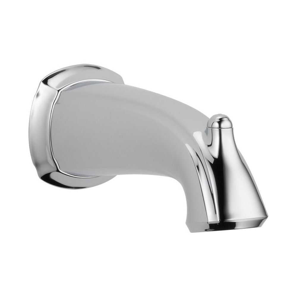 Delta Faucet Rp54863 6 1 2 Non Diverter Wall Mounted Tub Spout Chrome Grey Tub Spout Delta Faucets Bathtub Faucet