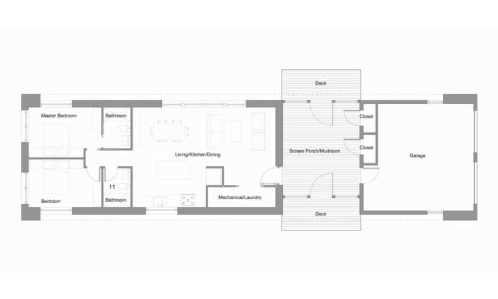 Home 1100 Sq Ft By Go Logic Prefab