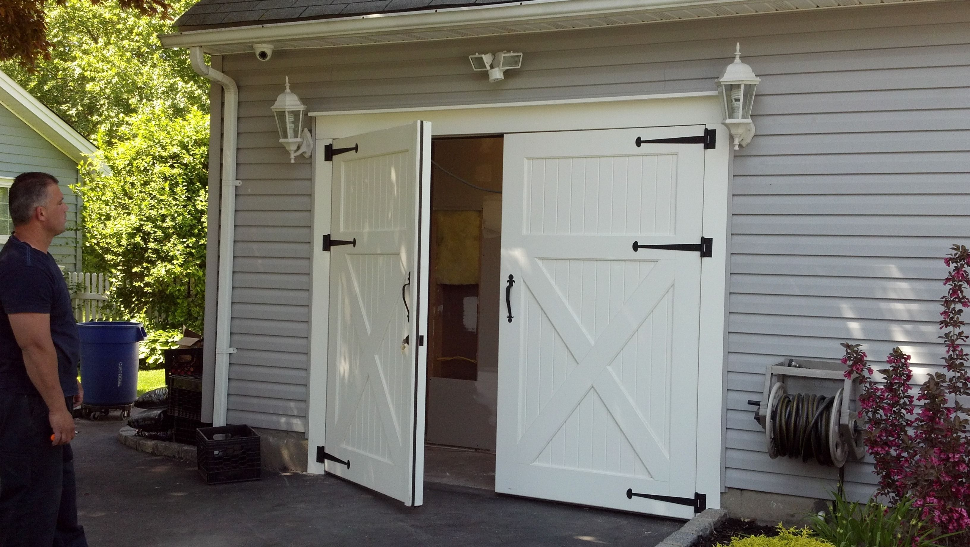 gates electric portcullis swing front homify img by garage doors swinging projects