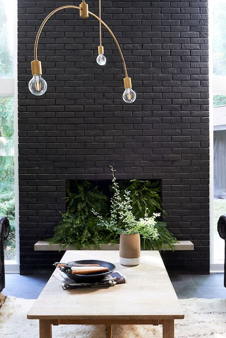 Here's How to Decorate Your Fireplace So It Looks Stylish All Year Long