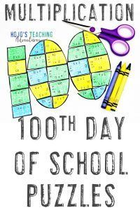 Photo of 100th Day of School Activities and Books for Elementary Kids | Hojo's
