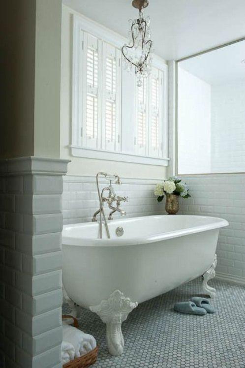 Decorating Bathroom with Clawfoot Tub   bathroom paint yellow bathroom walls clawfoot tub vintage clawfoot ...