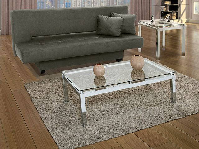 Um sofá cama bastante útil e de estilo!