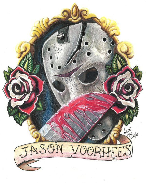 jason voorhees ink pinterest horror tattoo and movie. Black Bedroom Furniture Sets. Home Design Ideas
