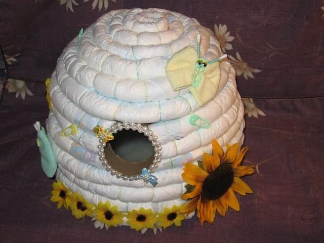 Easy Diaper Cake Instructions Diaper Cake Instructions
