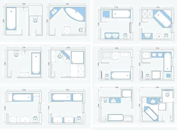 Rectangular Master Bedroom Layout Ideas | Kleines bad gestalten