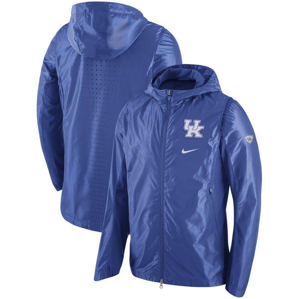 Kentucky Wildcats Nike 2016-2017 Hyper Elite On-Court Basketball Game Full-Zip Jacket - Royal - $149.99