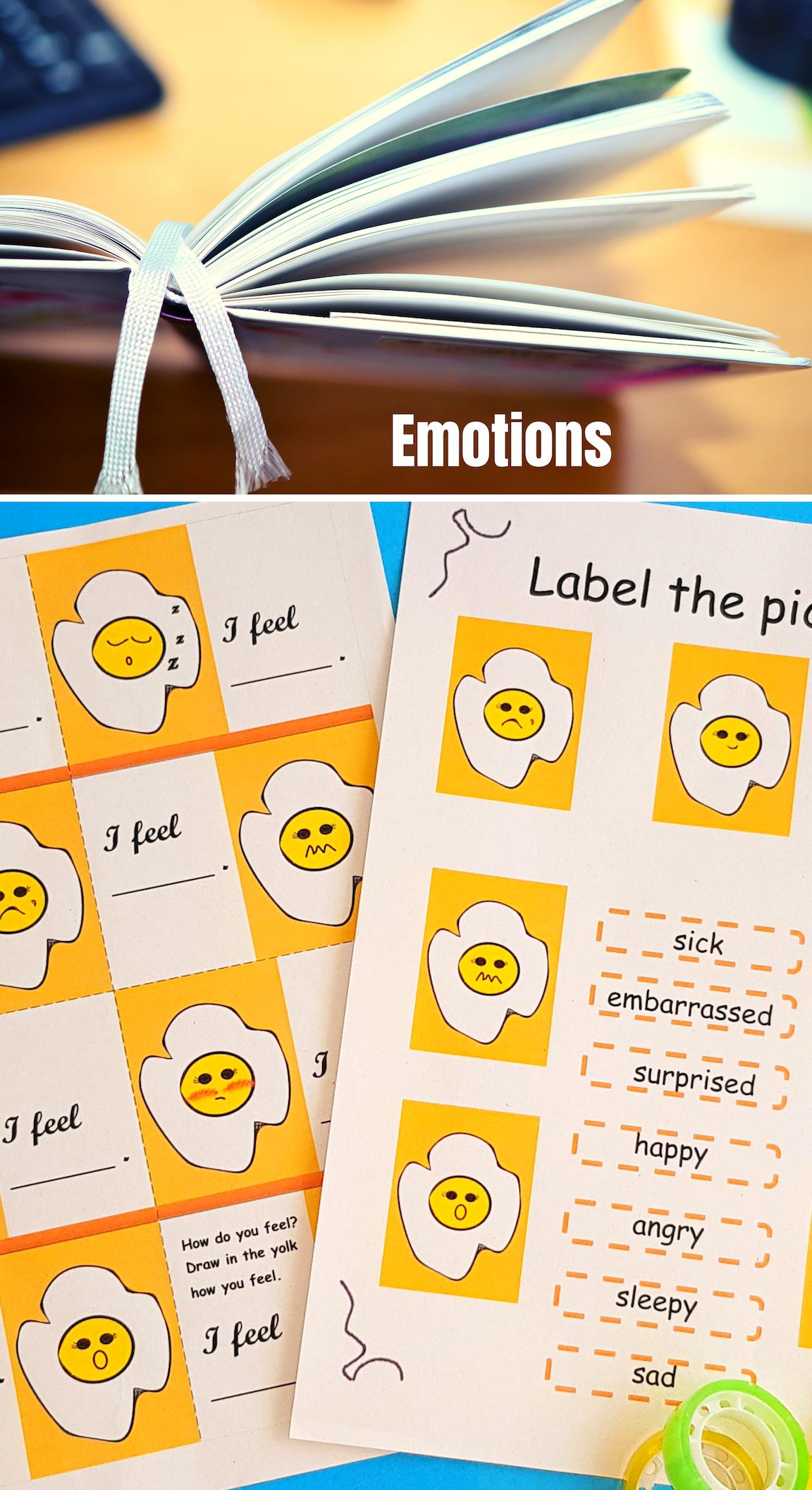 Feelings Emotions No Prep Adjectives