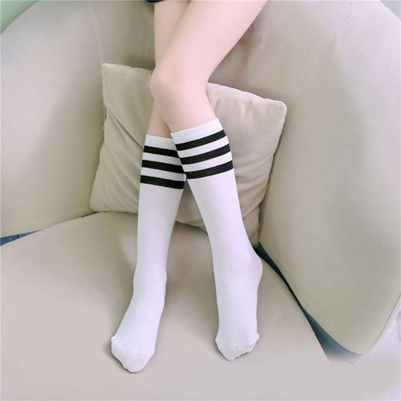 Toddler Unisex Kids Baby Knee High Long Socks Princess Cotton Casual Stockings