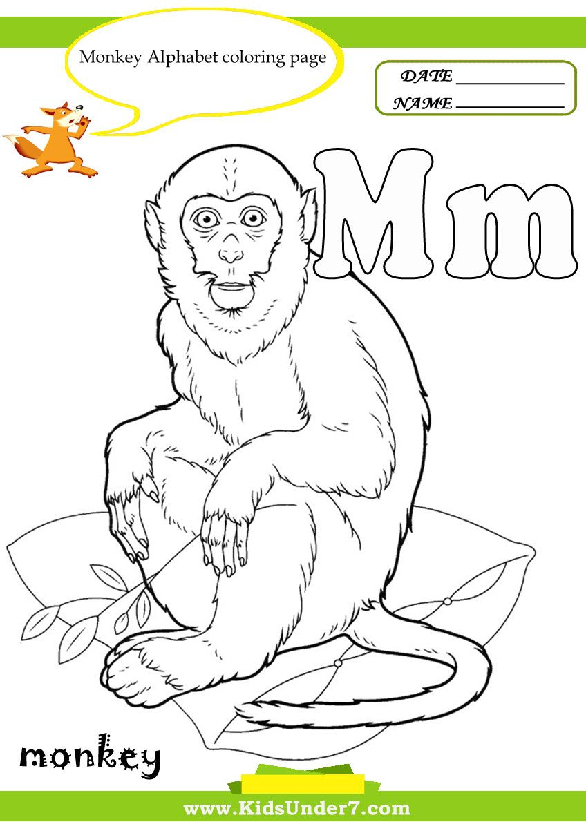 Child Development Alphabet Coloring Book
