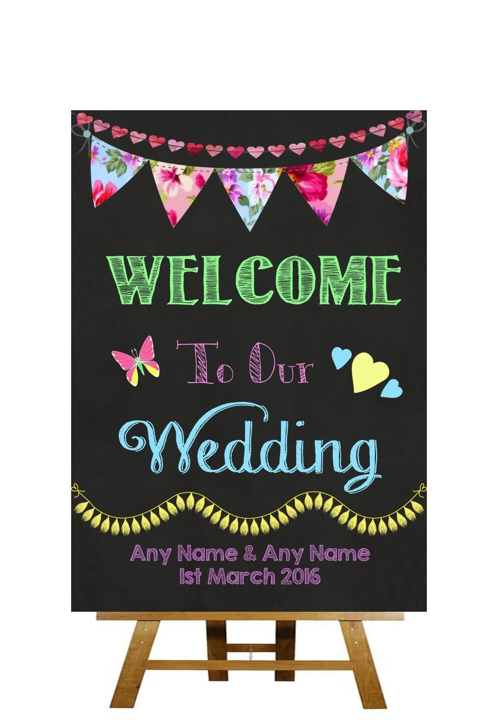 15+ Wedding chalkboard signs uk ideas