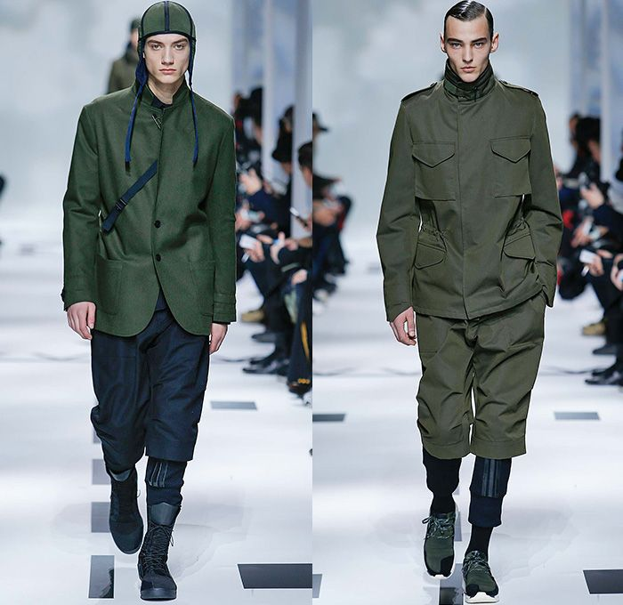 separation shoes a625f 93493 Y-3 Yohji Yamamoto x Adidas 2015-2016 Fall Autumn Winter Mens Runway Catwalk