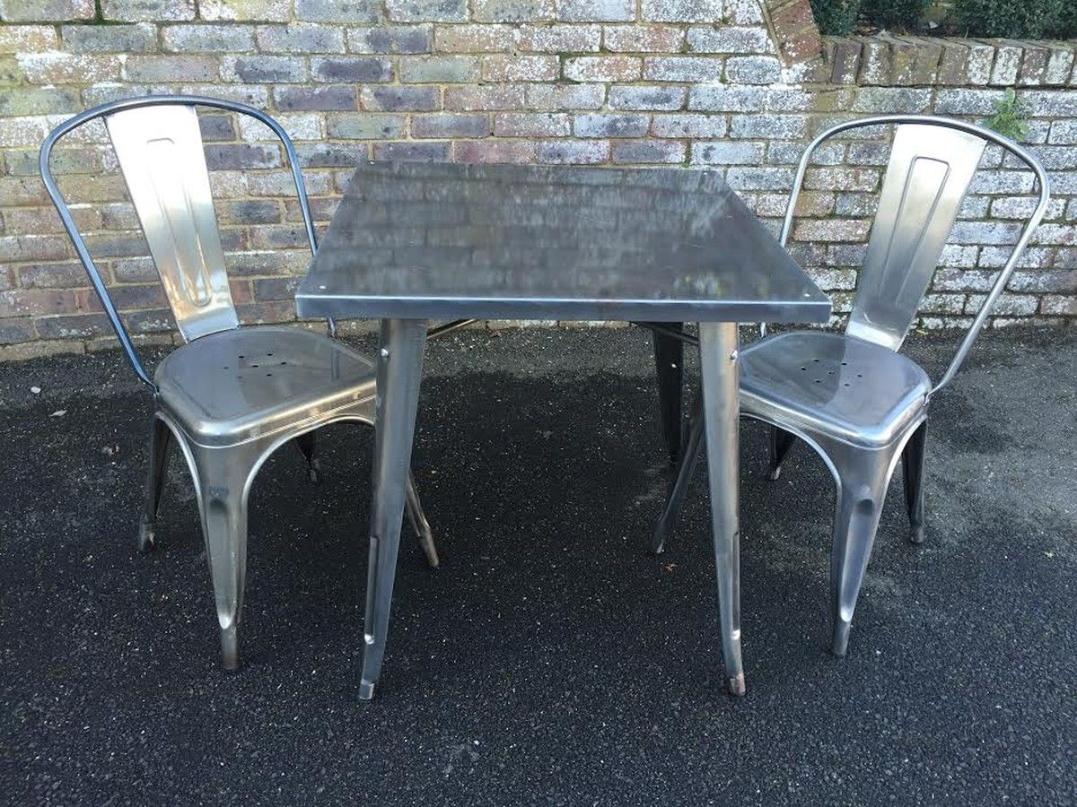 Secondhand Chairs And Tables | Outdoor Furniture | Tolix Style French  Bistro Furniture   Hertfordshire