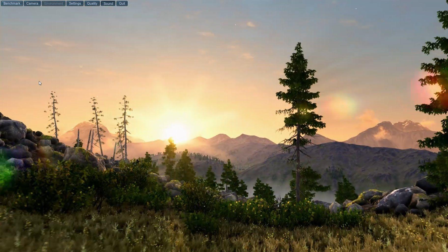 Elder Scrolls VI Engine!? Unigine Demo ▻ Max Settings