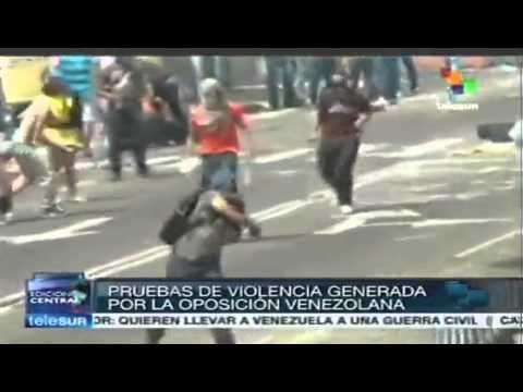 Maduro presenta pruebas de la violencia opositora  ¿manipulación? nooooo para nada !