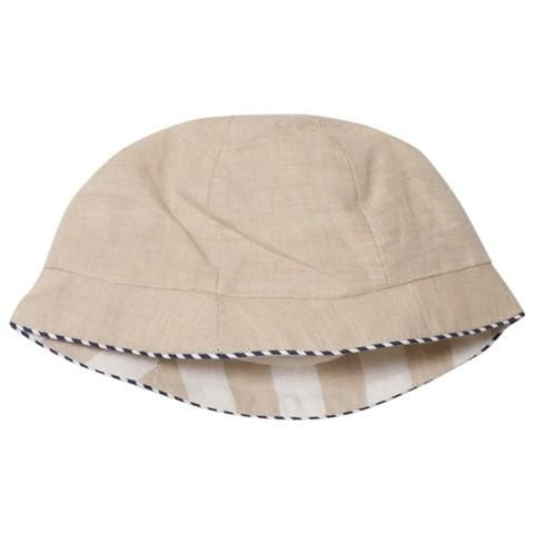 Mayoral beige reversible hat  e628130548b
