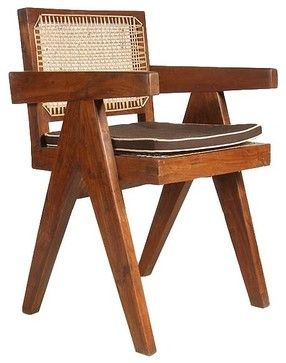 Marvelous Pierre Jeanneret Mid Century Modern Conference Chair From Pdpeps Interior Chair Design Pdpepsorg