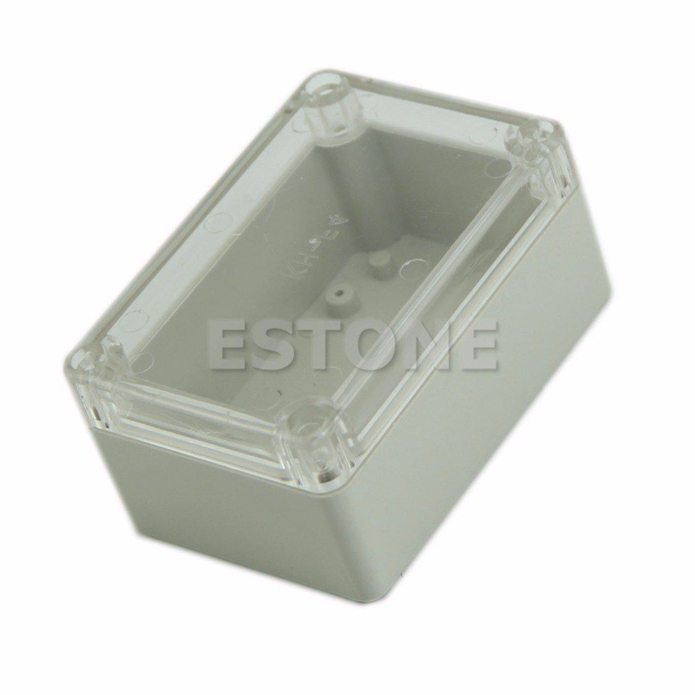 Universe Of Goods Buy Plastic Waterproof Cover Clear Electronic Project Box Enclosure Case 100x68x50mm E F Electronics Projects Cool Things To Buy Projects