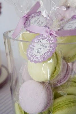 Macaron Favors | Party Favors and Gift Ideas | Macaron ...